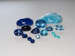 青色の宝石