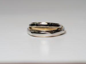 結婚指輪コンビ